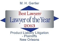 Mike Gertler Best Lawyer Award